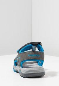 KangaROOS - LOGAN - Vandringssandaler - steel grey/blue - 4