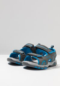 KangaROOS - LOGAN - Vandringssandaler - steel grey/blue - 3