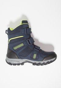 KangaROOS - K-RANI - Vysoká obuv - dark navy/lime - 1