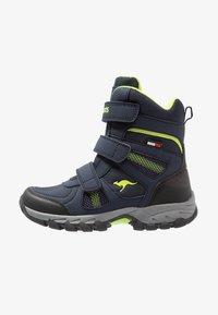 KangaROOS - K-RANI - Vysoká obuv - dark navy/lime - 0
