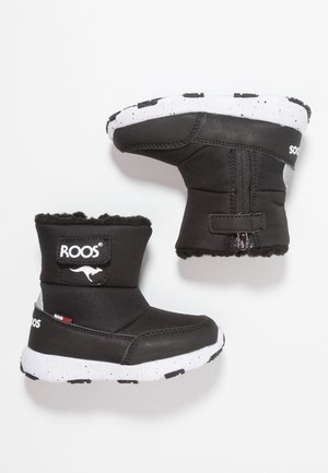 SNOWBALL - Snowboots  - jet black/white