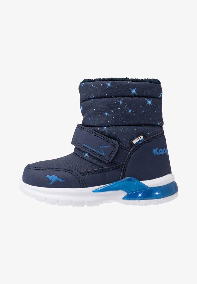 ICERUSH - Korte laarzen - dark navy/brilliant blue