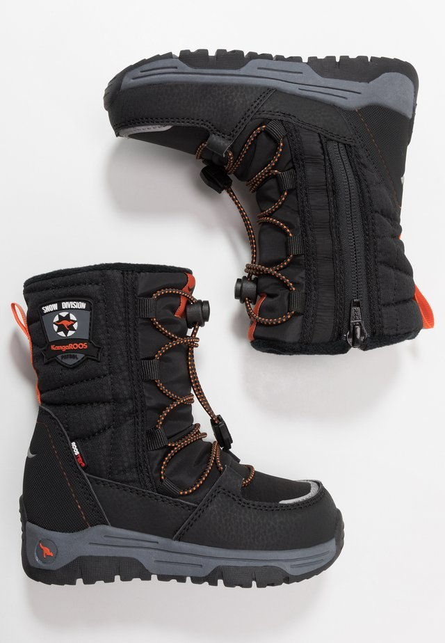SERGEANT RTX - Winter boots - jet black/orange