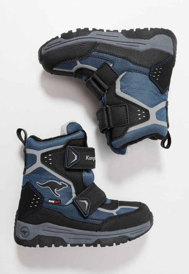 TROOPER RTX - Talvisaappaat - dark navy/vapor grey