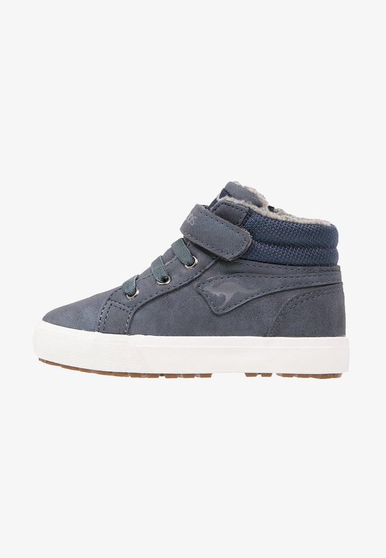 KangaROOS - KAVU III - Höga sneakers - dark navy/grey