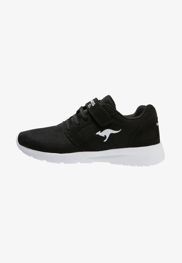 NIHU - Sneaker low - jet black/white