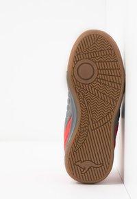 KangaROOS - SPEED COURT - Sneakers - steel grey/red - 5