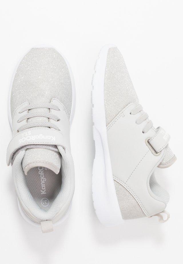 HINU - Sneakers laag - silver metallic