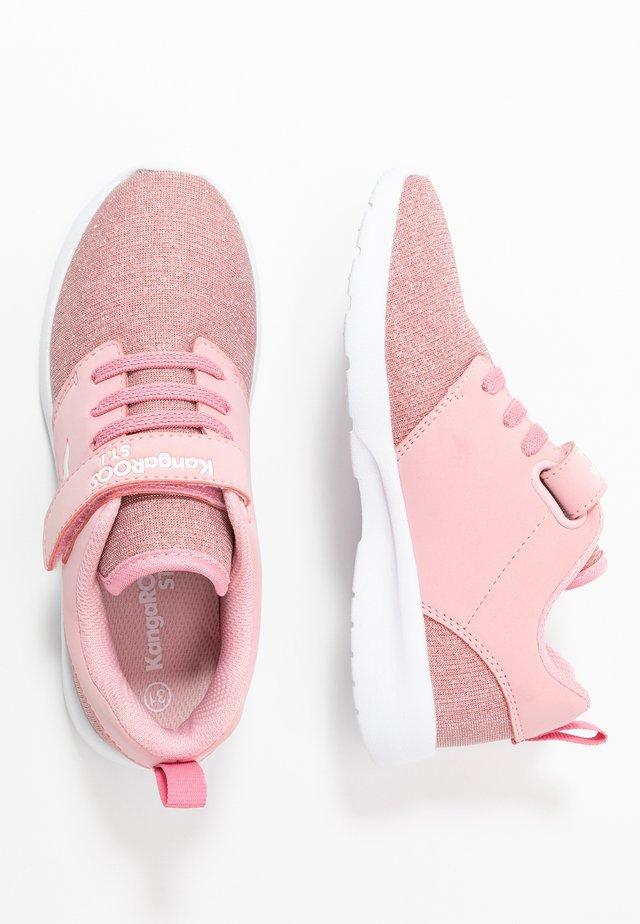 HINU - Sneakers basse - frost pink metallic