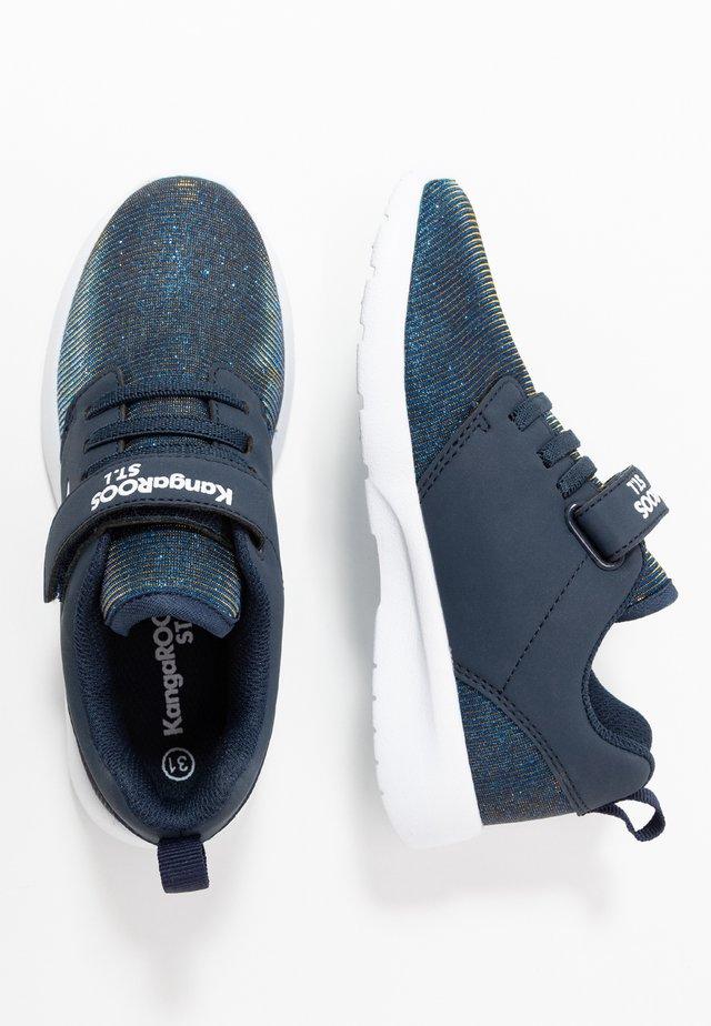 HINU - Sneakers basse - dark navy metallic