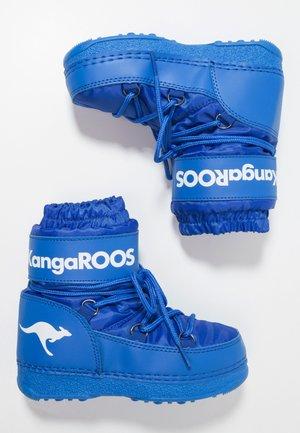 K-MOON - Lace-up ankle boots - brillant blue