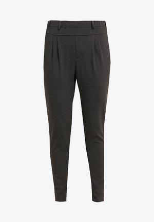 JILLIAN PANTS - Pantalon classique - dark grey melange
