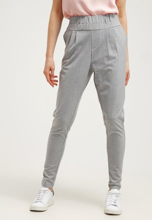 JILLIAN PANTS - Broek - light grey melange