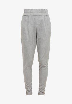 JILLIAN PANTS - Spodnie materiałowe - light grey melange