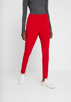 JILLIAN PANTS - Kangashousut - haute red