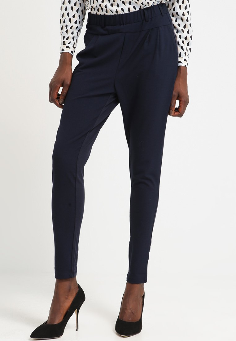 Kaffe - JILLIAN PANTS - Trousers - midnight marine