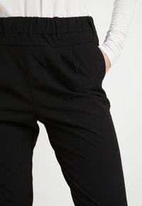 Kaffe - JILLIAN PANTS - Kalhoty - black deep - 5