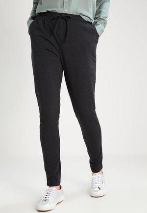 LINDA  - Spodnie treningowe - dark grey melange