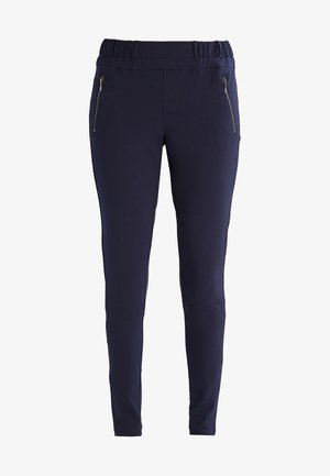 JILLIAN VILJA - Trousers - midnight marine