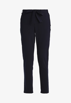 JILLIAN BELT PANT - Bukse - midnight marine