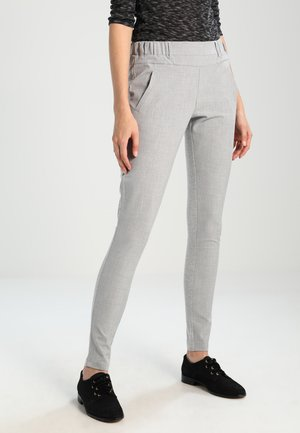 JILLIAN SOFIE PANT - Broek - light grey melange