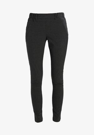 JILLIAN SOFIE PANT - Trousers - dark grey melange