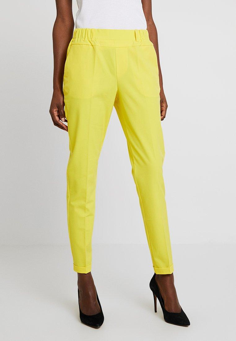 Kaffe - NANCI JILLIAN PANT - Trousers - cyber yellow