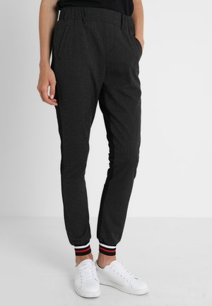 RONA JILLIAN TIE PANTS - Kangashousut - black deep