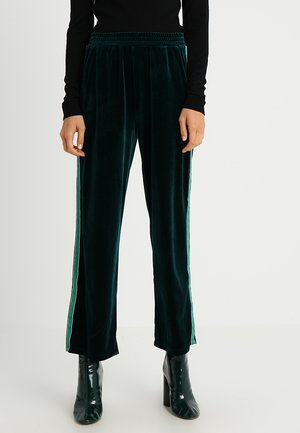 CHRESTINE PANTS - Pantaloni - rain forest