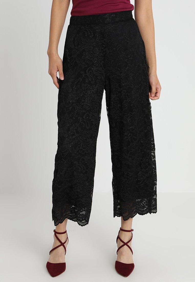 Kaffe - AXELINE PANTS - Pantaloni - black