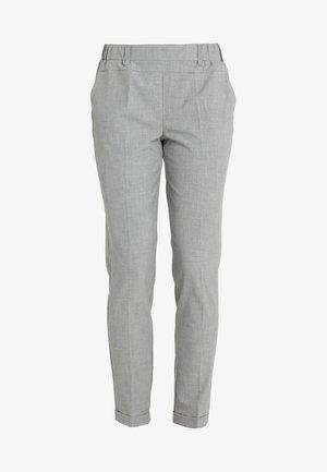 NANCI JILLIAN PANT - Trousers - light grey melange