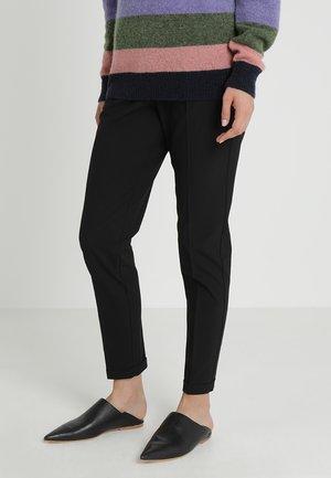 NANCI JILLIAN PANT - Trousers - black deep