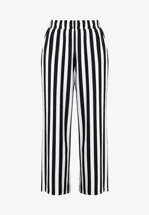 KAALVA PANTS - Spodnie materiałowe - black deep