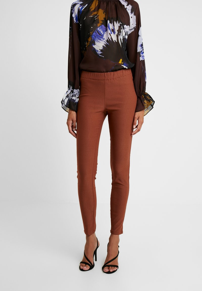 Kaffe - KAJOLEEN - Leggings - Trousers - tortoise shell