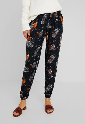 GARDEN AMBER PANTS - Trousers - midnight marine