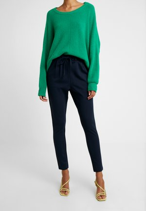 KAJOJO STRING PANTS - Trousers - midnight marine