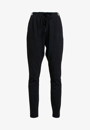 KAJOJO STRING PANTS - Spodnie materiałowe - black deep