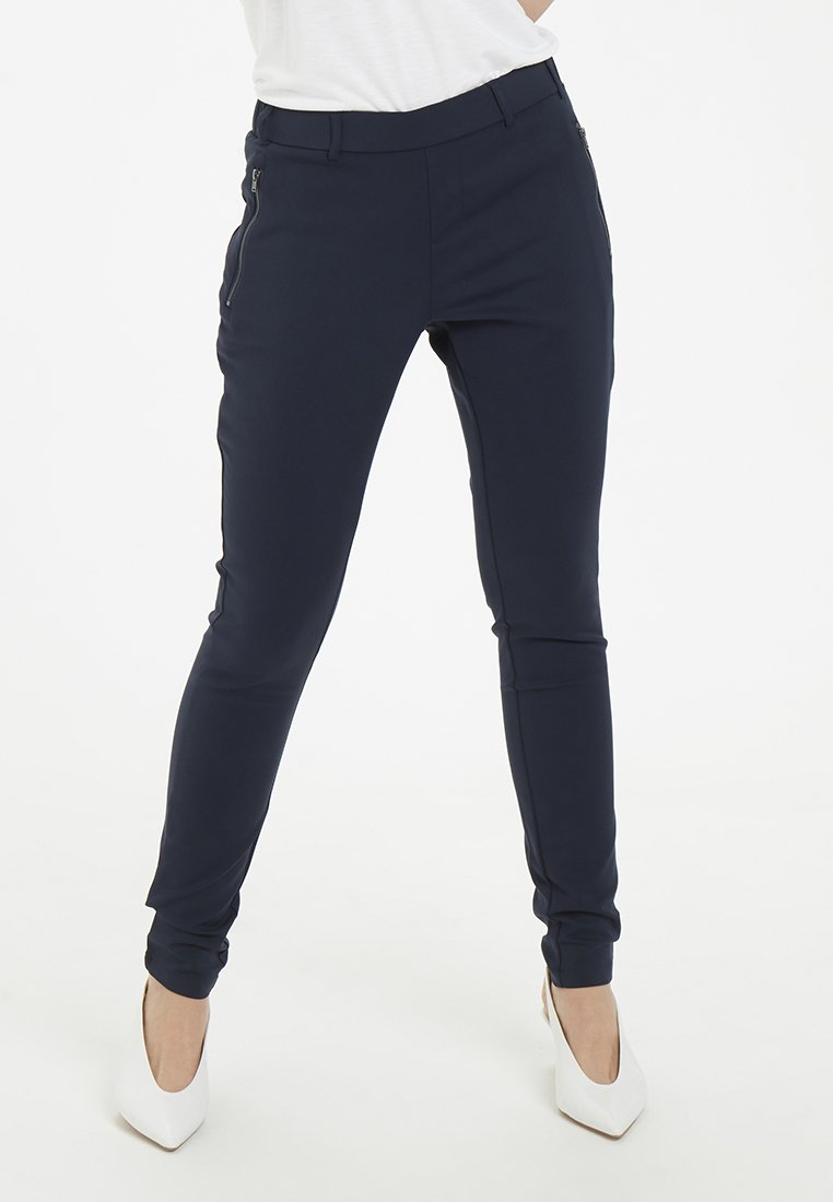 Kaffe - VERA LIVA - Trousers - dark blue