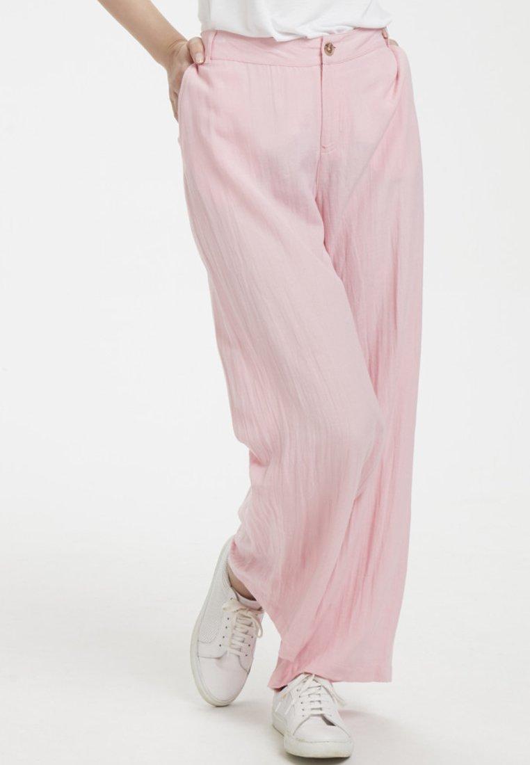 Kaffe - KACLEMEN - Trousers - candy pink