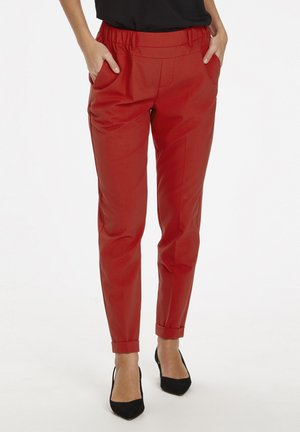 NANCI JILLIAN - Spodnie materiałowe - red