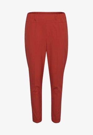 NANCI  - Spodnie materiałowe - red