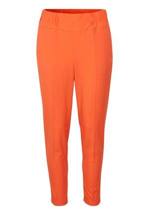 NANCI JILLIAN - Spodnie materiałowe - bright orange