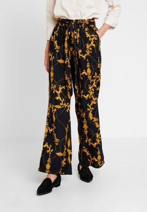 KACHILA PANTS - Trousers - black deep