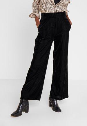 PANTS - Pantalon classique - black deep