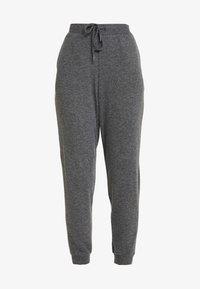 Kaffe - SORANA - Teplákové kalhoty - dark grey melange - 3
