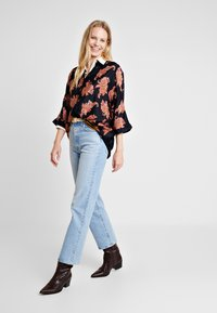 Kaffe - KAPASLY - Button-down blouse - black deep - 1