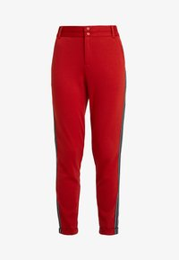 Kaffe - KINNIE PANTS - Pantalones deportivos - ketchup - 4