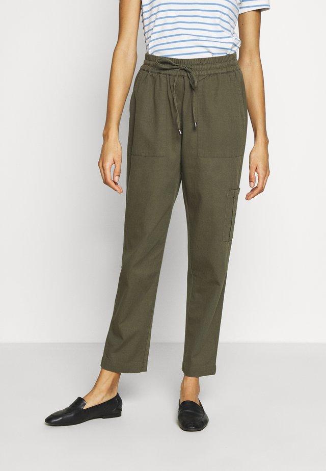 KAPOCKY PANTS - Pantalon classique - grape leaf