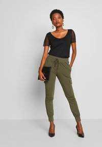 Kaffe - KASIGGI LINDA PANTS  - Joggebukse - grape leaf - 1