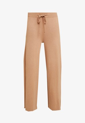 KAMOLLY CULOTTE PANTS - Stoffhose - tannin